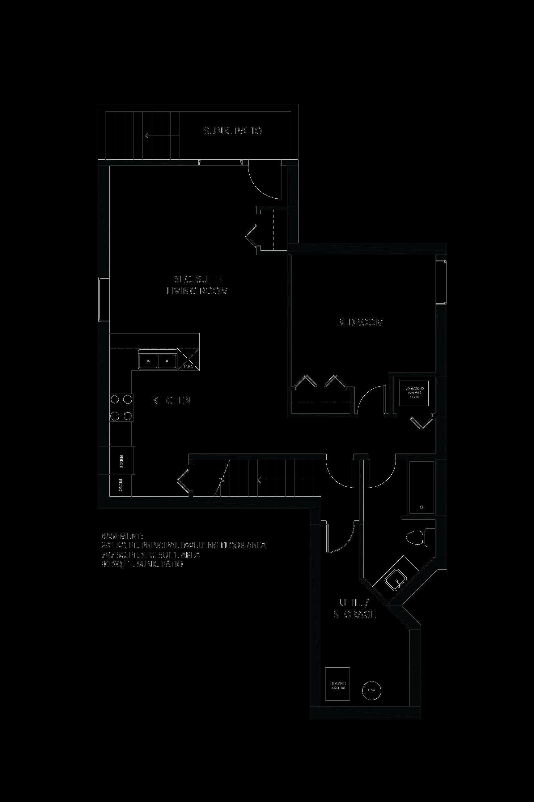Secondary Suite Basement