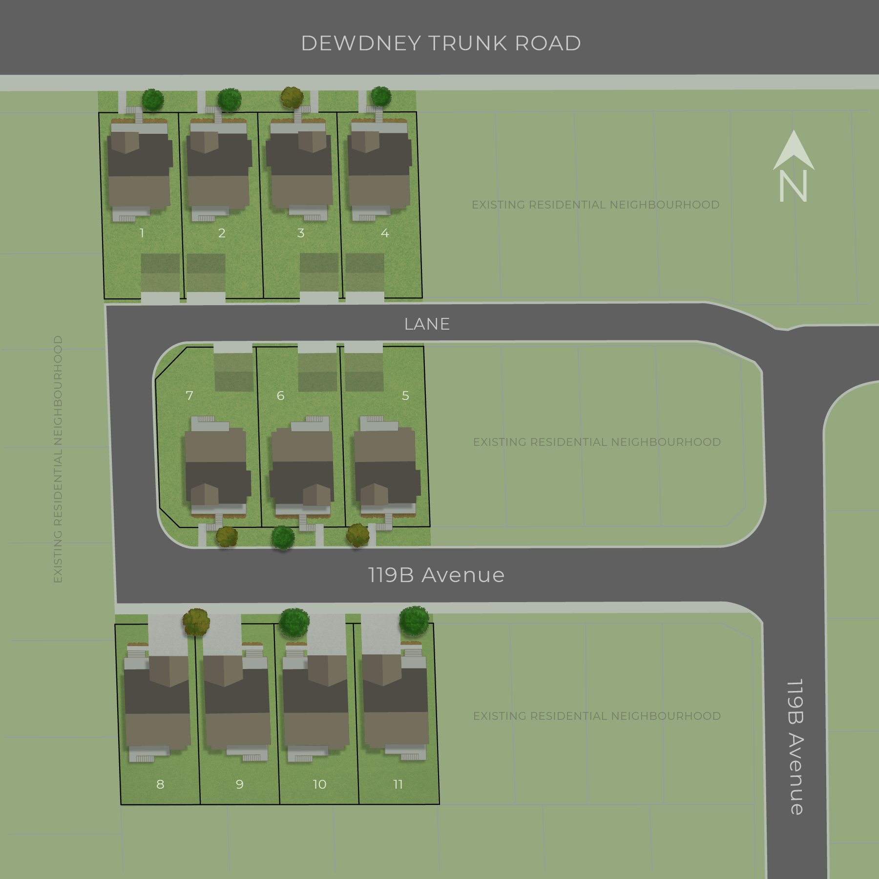 Dewdney Junction Siteplan